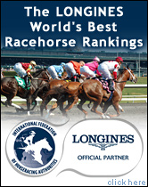 The LONGINES World's Best Racehorse Rankings